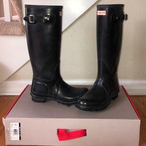 Hunter Boots Original Tall Gloss (Size 7)